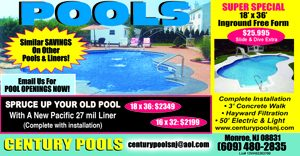 Swimming Pool Specials - Century Pools | Swimming Pools - NJ ...